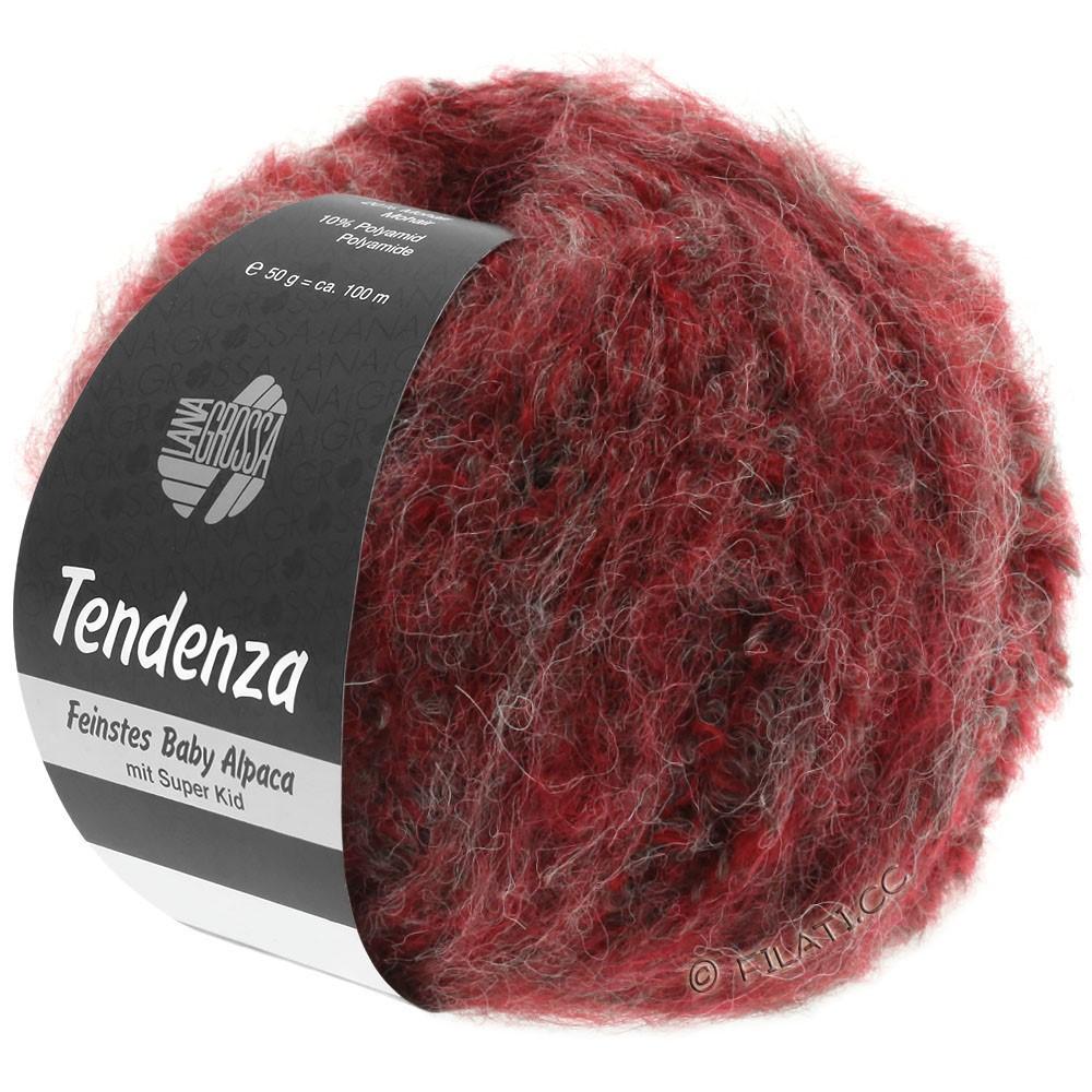 Lana Grossa TENDENZA | 003-red/gray