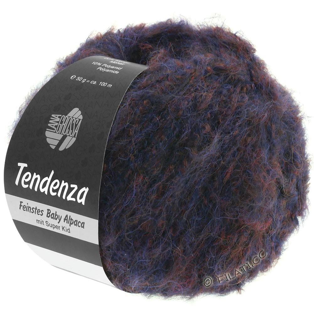Lana Grossa TENDENZA | 005-night blue/blackberry