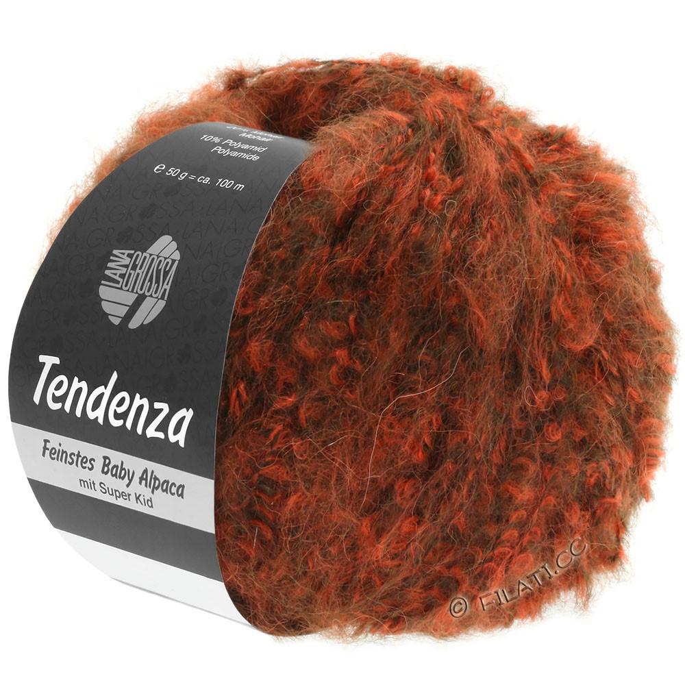 Lana Grossa TENDENZA | 006-dark brown/orange