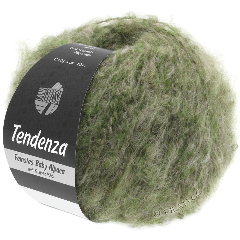 Lana Grossa TENDENZA | 007-green/beige