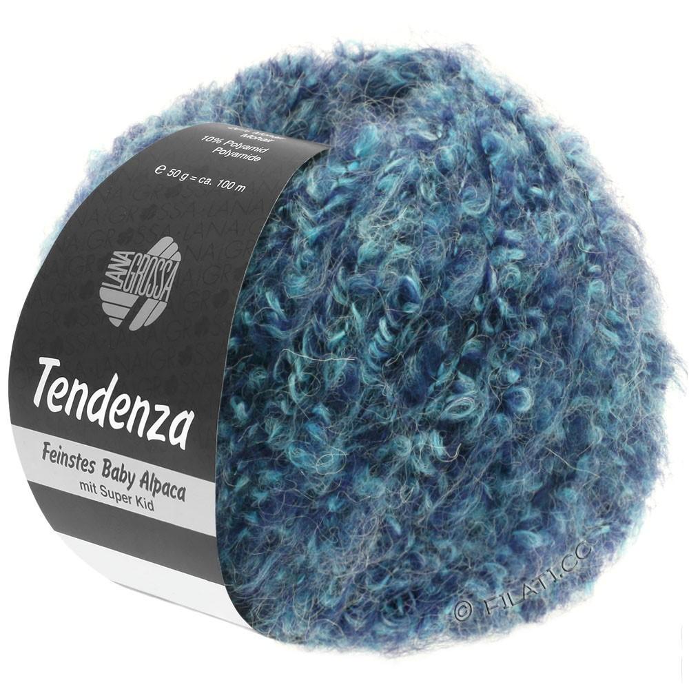 Lana Grossa TENDENZA | 009-blue purple/mint