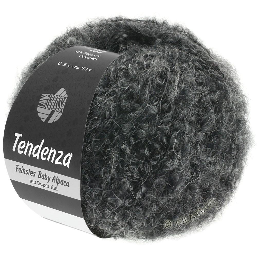 Lana Grossa TENDENZA | 010-black/gray