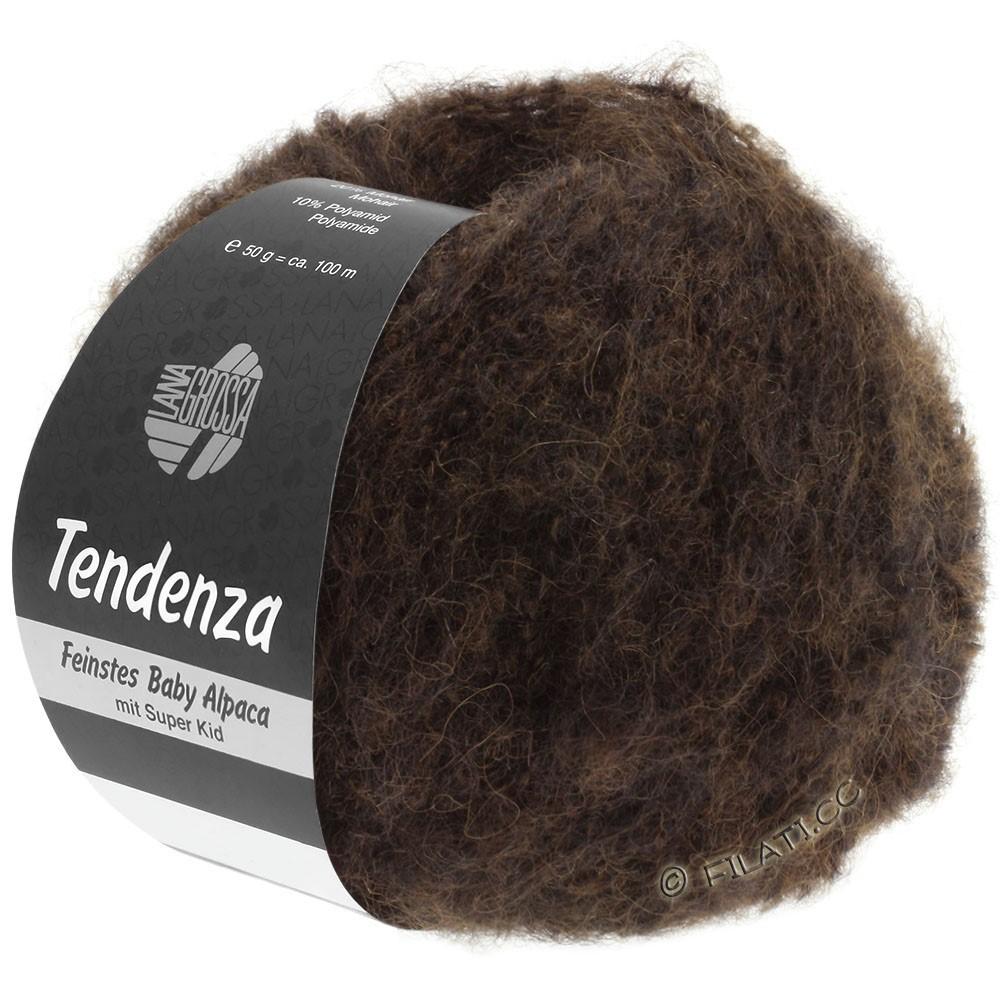 Lana Grossa TENDENZA | 012-dark brown/black