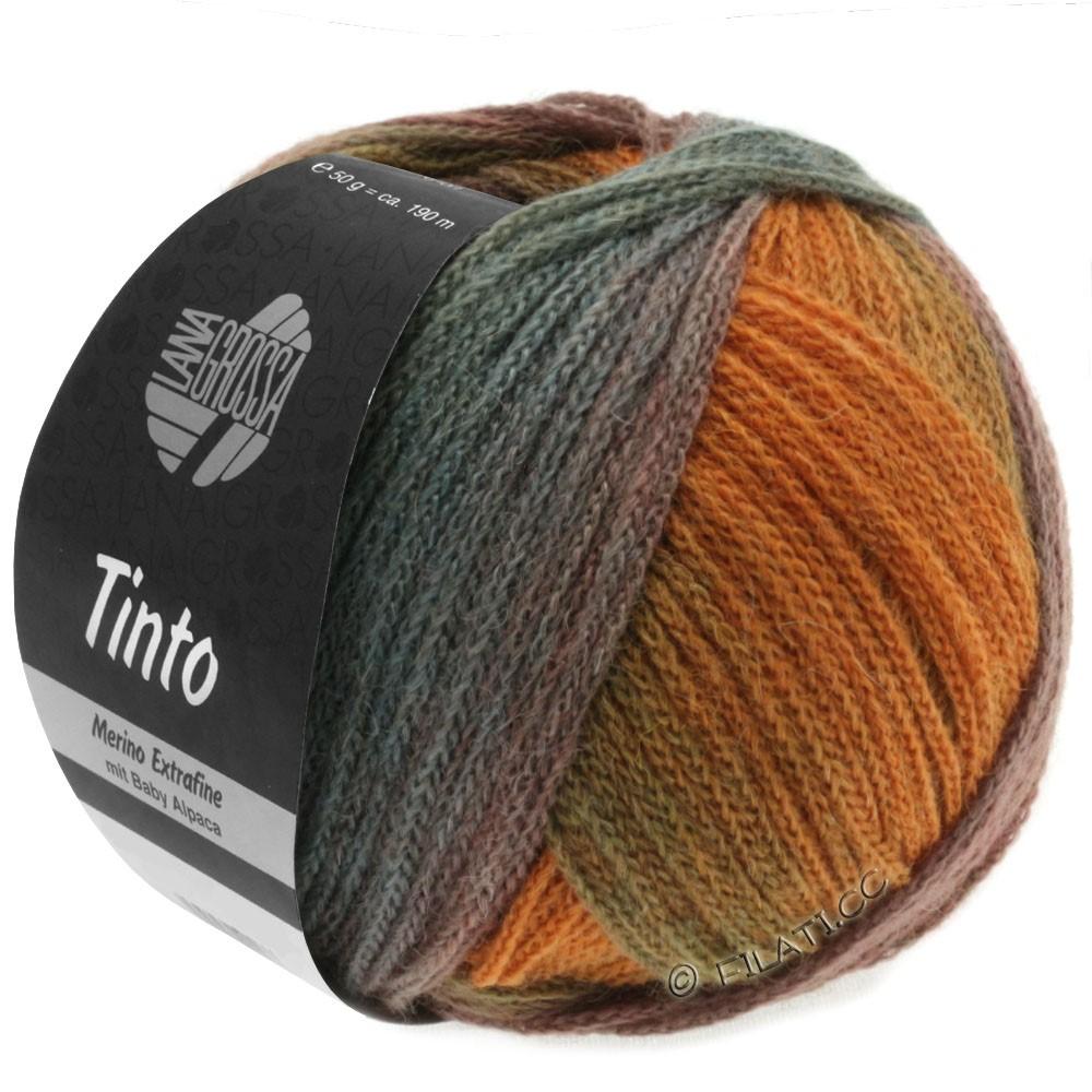 Lana Grossa TINTO | 03-petrol/rust/green/turquoise/olive/khaki