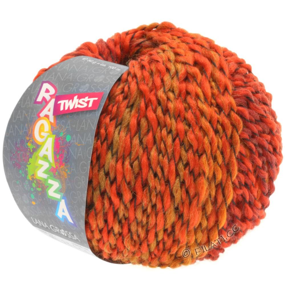 Lana Grossa TWIST (Ragazza) | 06-red/burgundy/orange