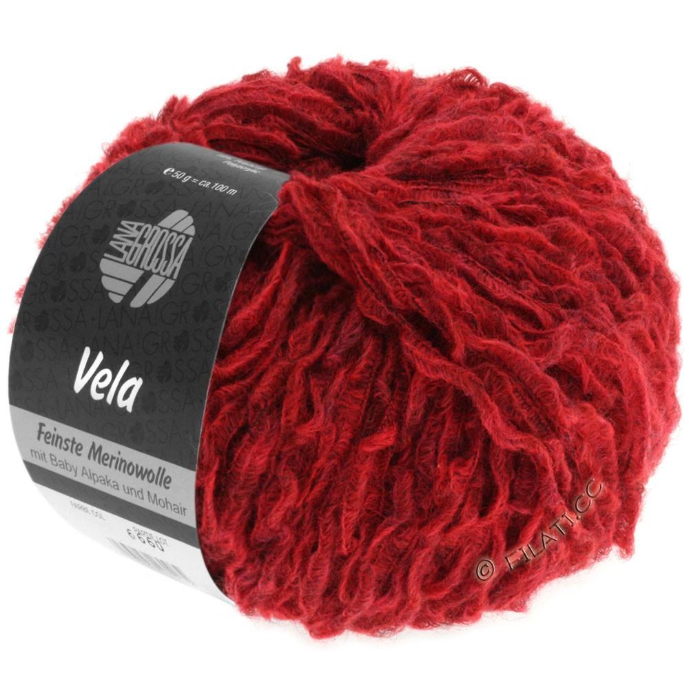 Lana Grossa VELA | 009-red mottled