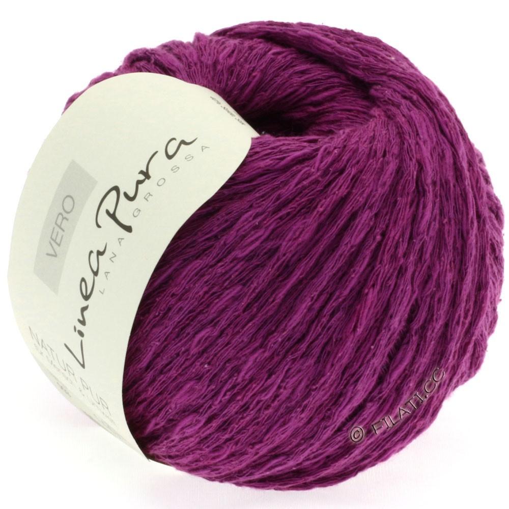 Lana Grossa VERO uni/print (Linea Pura) | 003-red violet