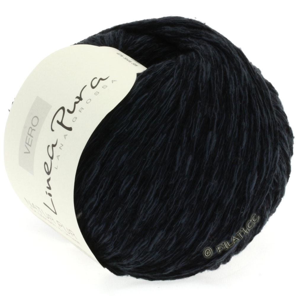 Lana Grossa VERO uni/print (Linea Pura) | 008-black