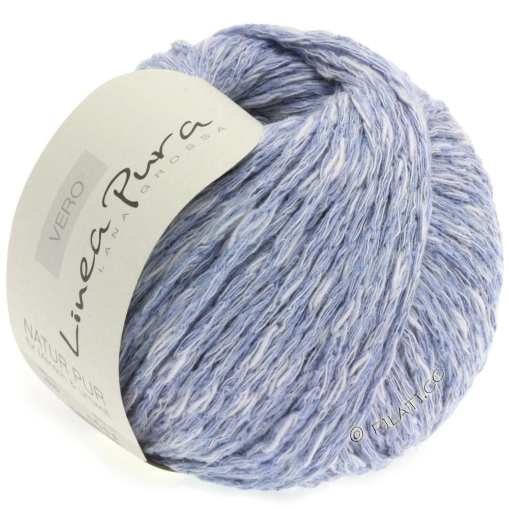 Lana Grossa VERO uni/print (Linea Pura) | 015-gray blue mottled