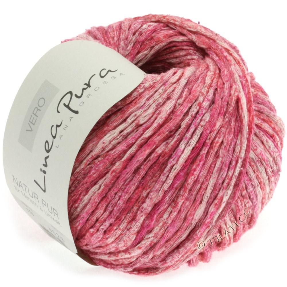 Lana Grossa VERO uni/print (Linea Pura) | 110-red/pink/natural