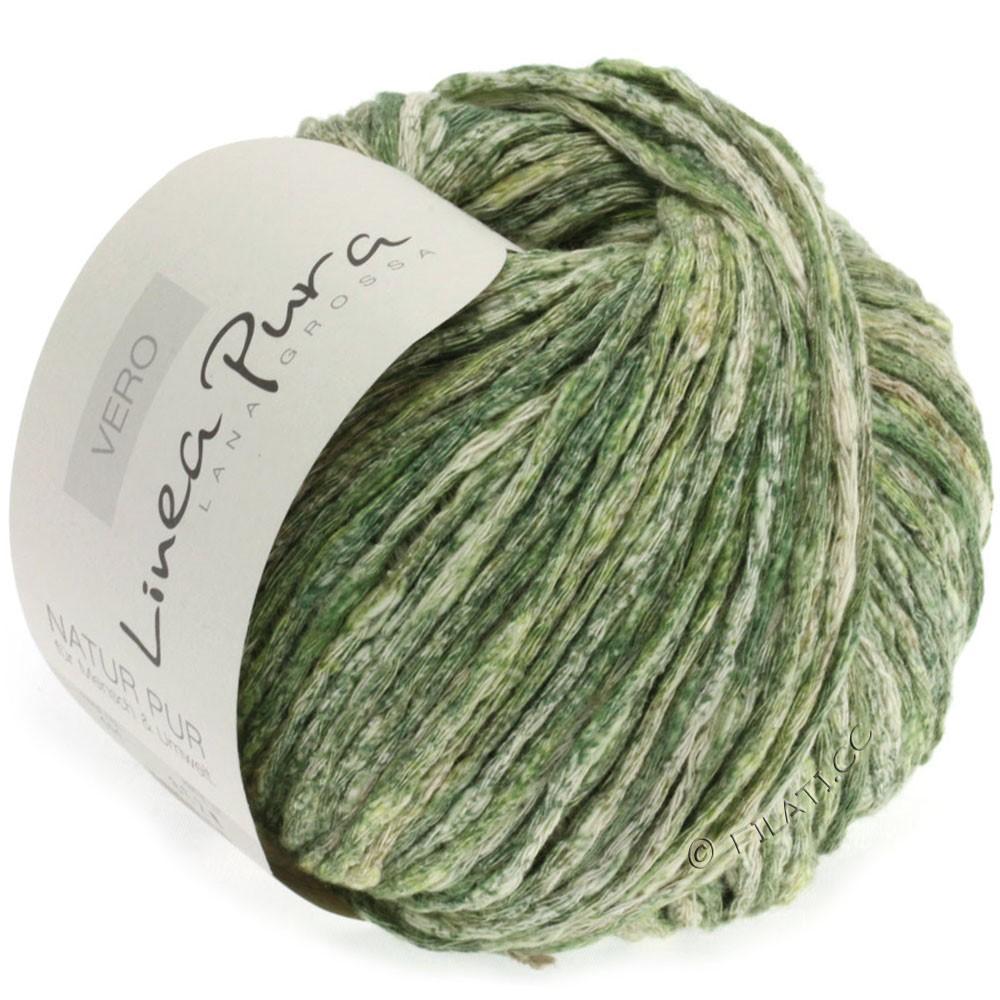 Lana Grossa VERO uni/print (Linea Pura) | 111-green/reed/natural