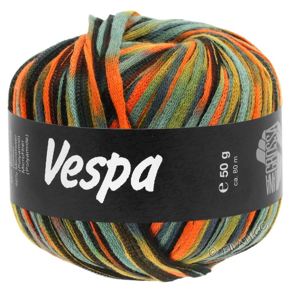 Lana Grossa VESPA | 103-orange/beige/blue gray/black