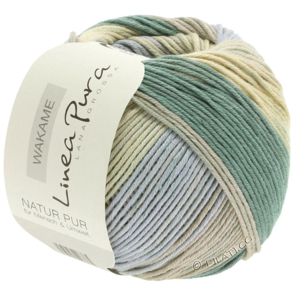 Lana Grossa WAKAME Uni/Print (Linea Pura)   112-beige/gray/khaki/sand