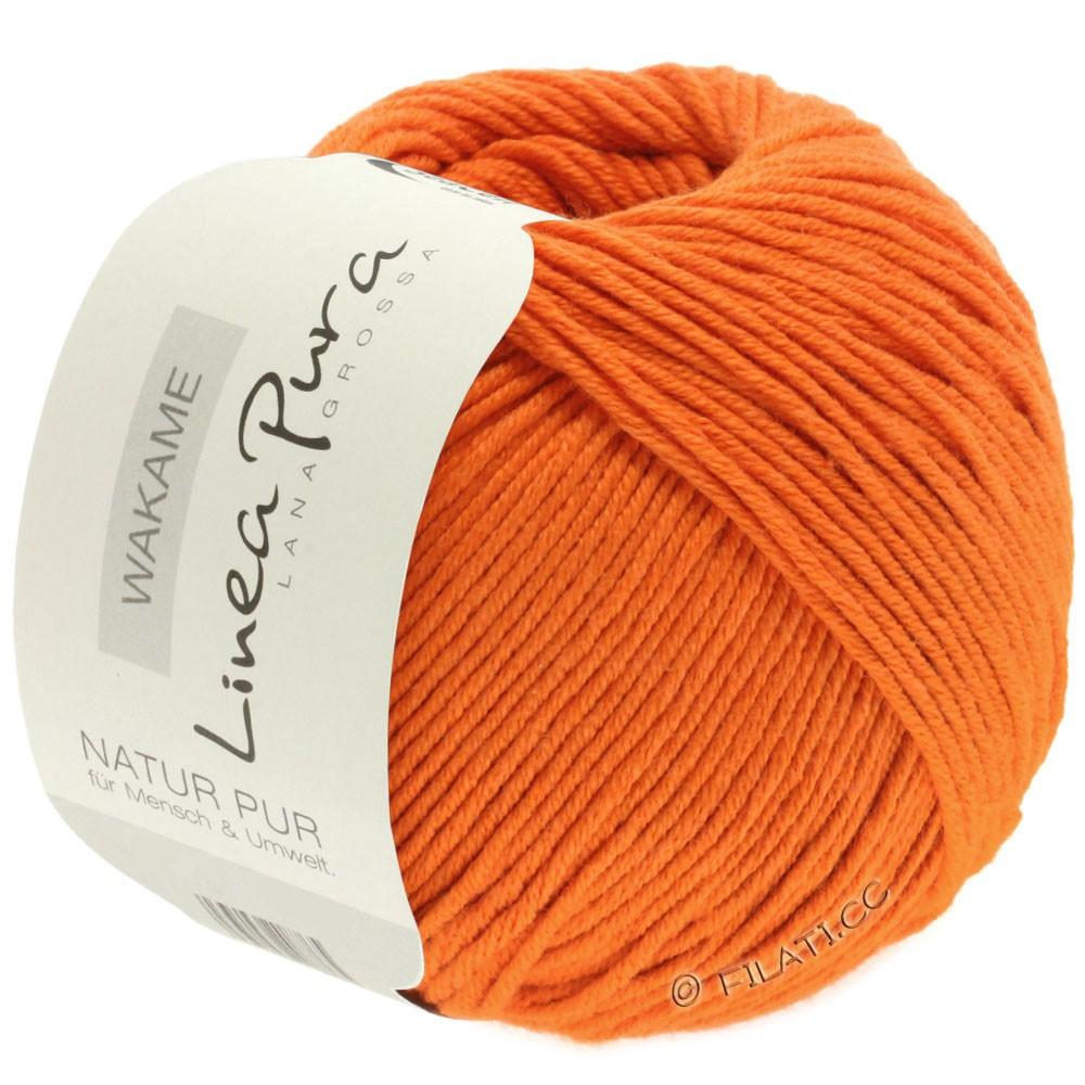 Lana Grossa WAKAME Uni/Print (Linea Pura)   036-orange