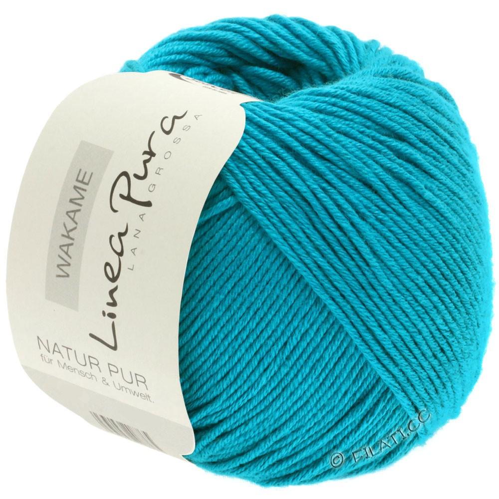 Lana Grossa WAKAME Uni/Print (Linea Pura)   041-blue turquoise