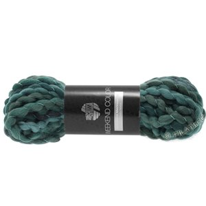 Lana Grossa WEEKEND Color | 205-petrol/gray green/navy/night blue