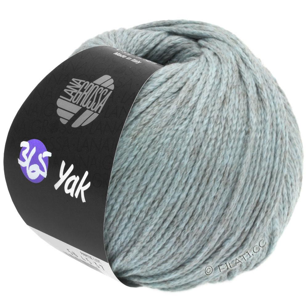 Lana Grossa 365 YAK | 08-light blue/gray