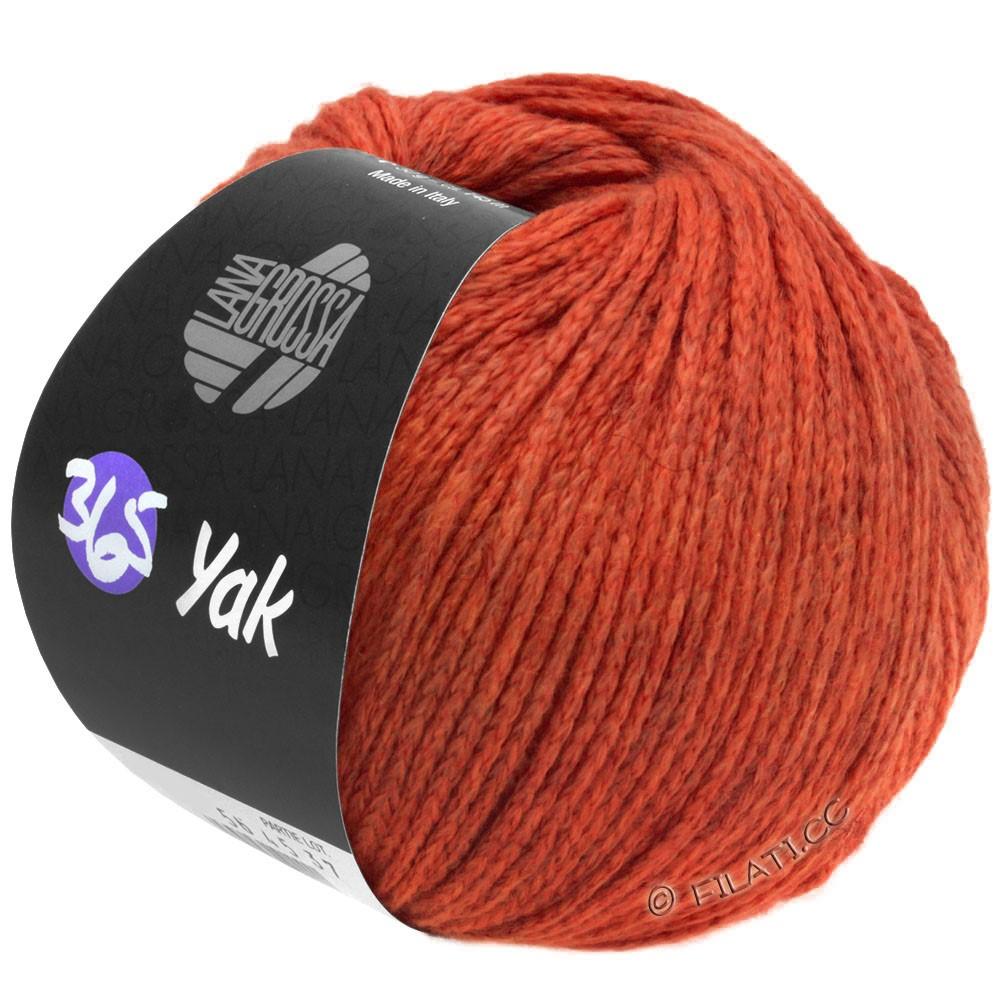 Lana Grossa 365 YAK | 20-red/dark red