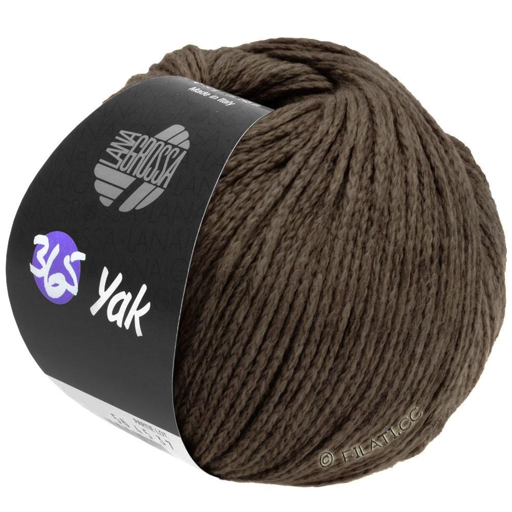 Lana Grossa 365 YAK | 28-dark brown
