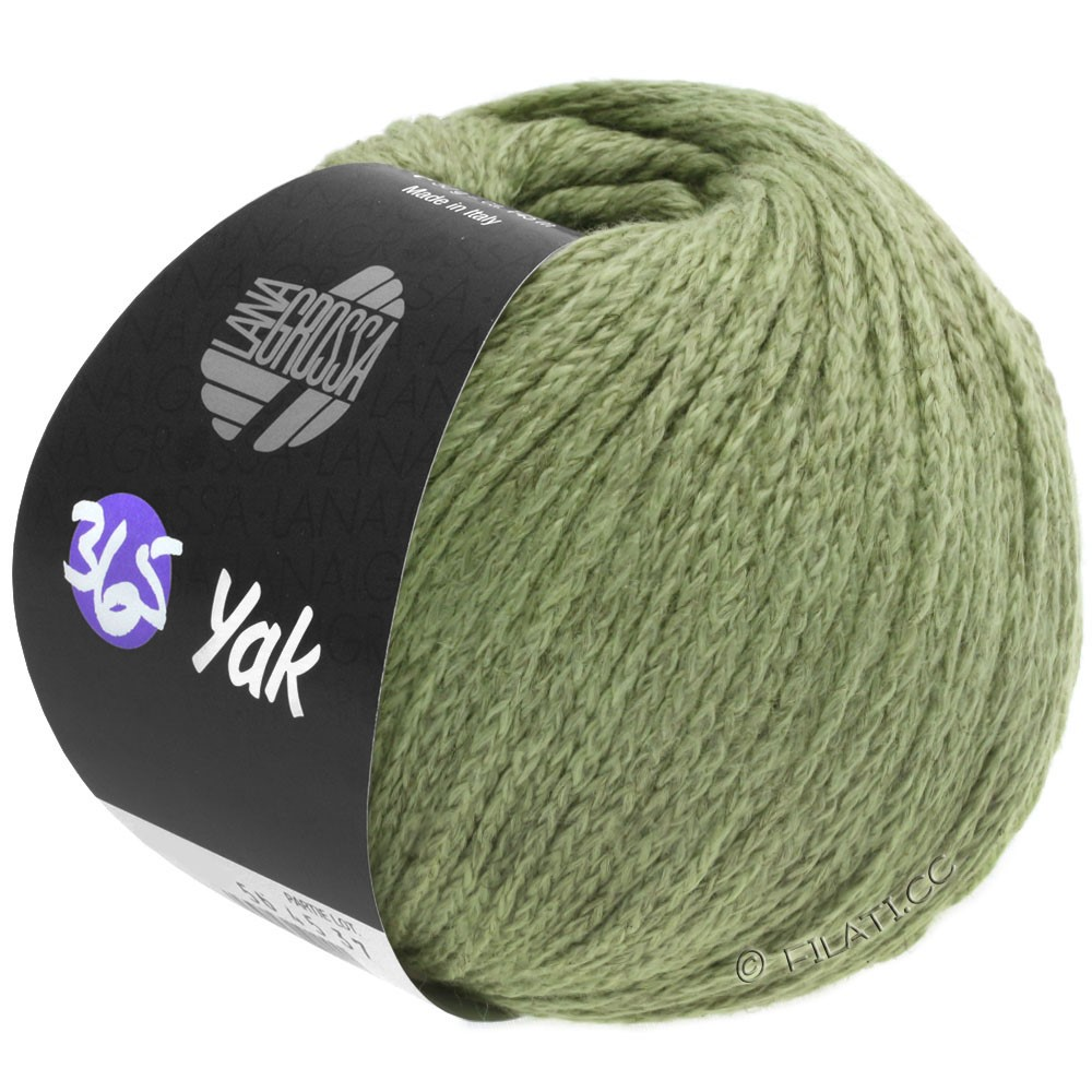 Lana Grossa 365 YAK | 32-khaki green