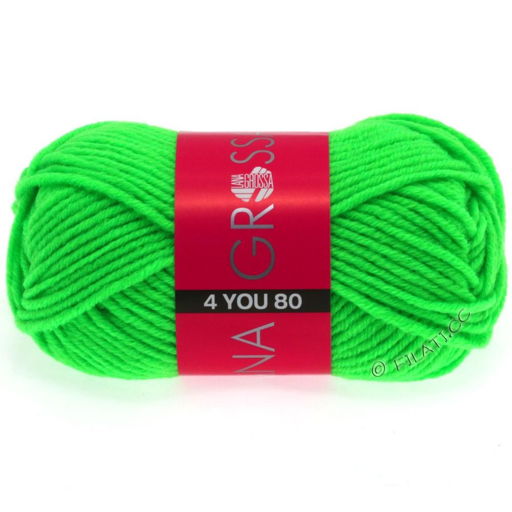 Lana Grossa NEON-4YOU 80 | 802-neon green