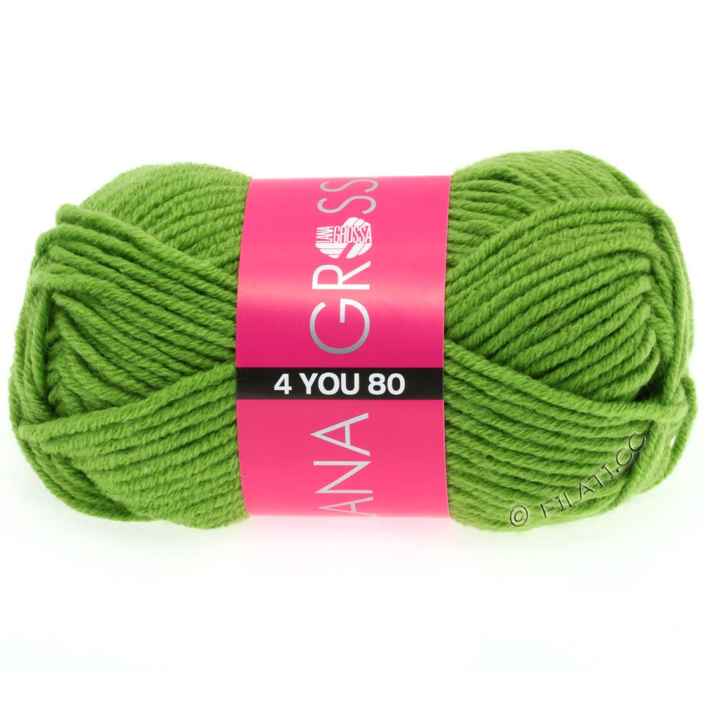 Lana Grossa NEON-4YOU 80 | 810-gras green