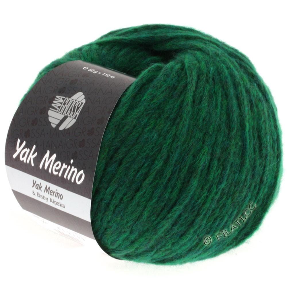 Lana Grossa YAK MERINO | 002-green mottled