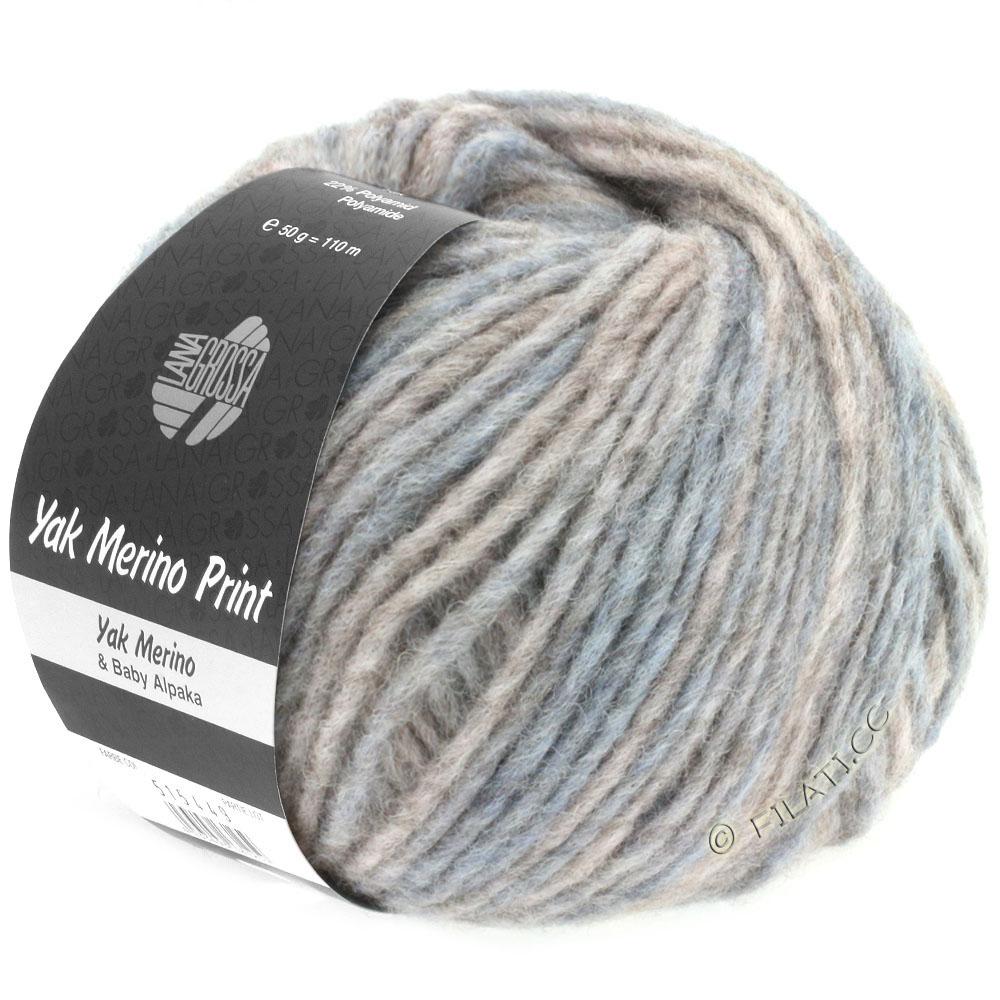 lana grossa yak merino print yak merino print from lana grossa yarn wool wool filati. Black Bedroom Furniture Sets. Home Design Ideas