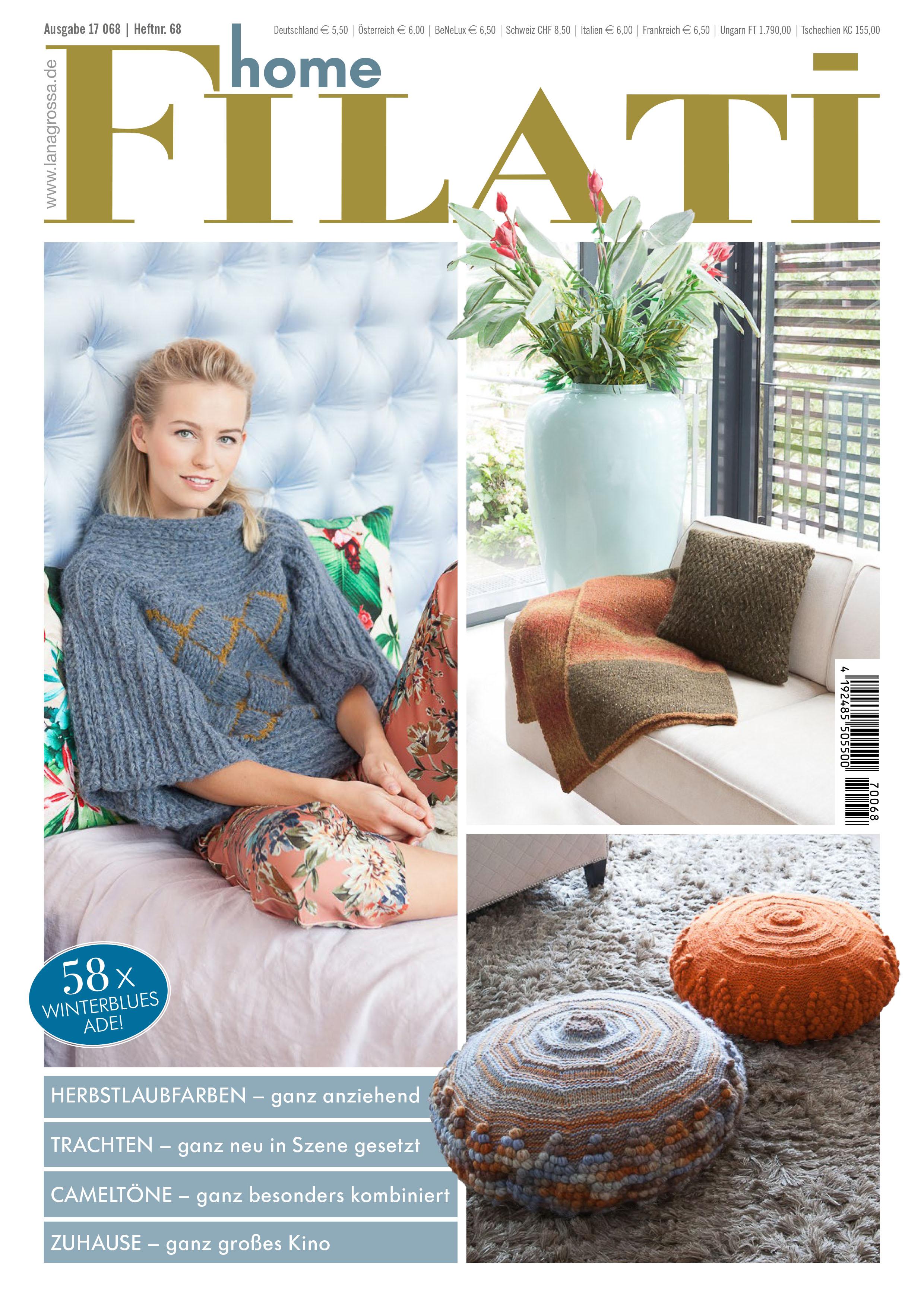 Lana Grossa FILATI Handstrick No. 68 (Home) - Magazine (DE ...