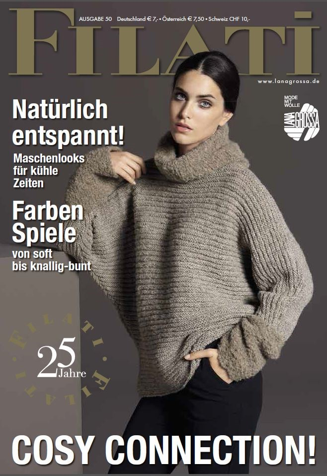 Lana Grossa FILATI No. 50 (Fall/Winter 2015/16) - German Edition