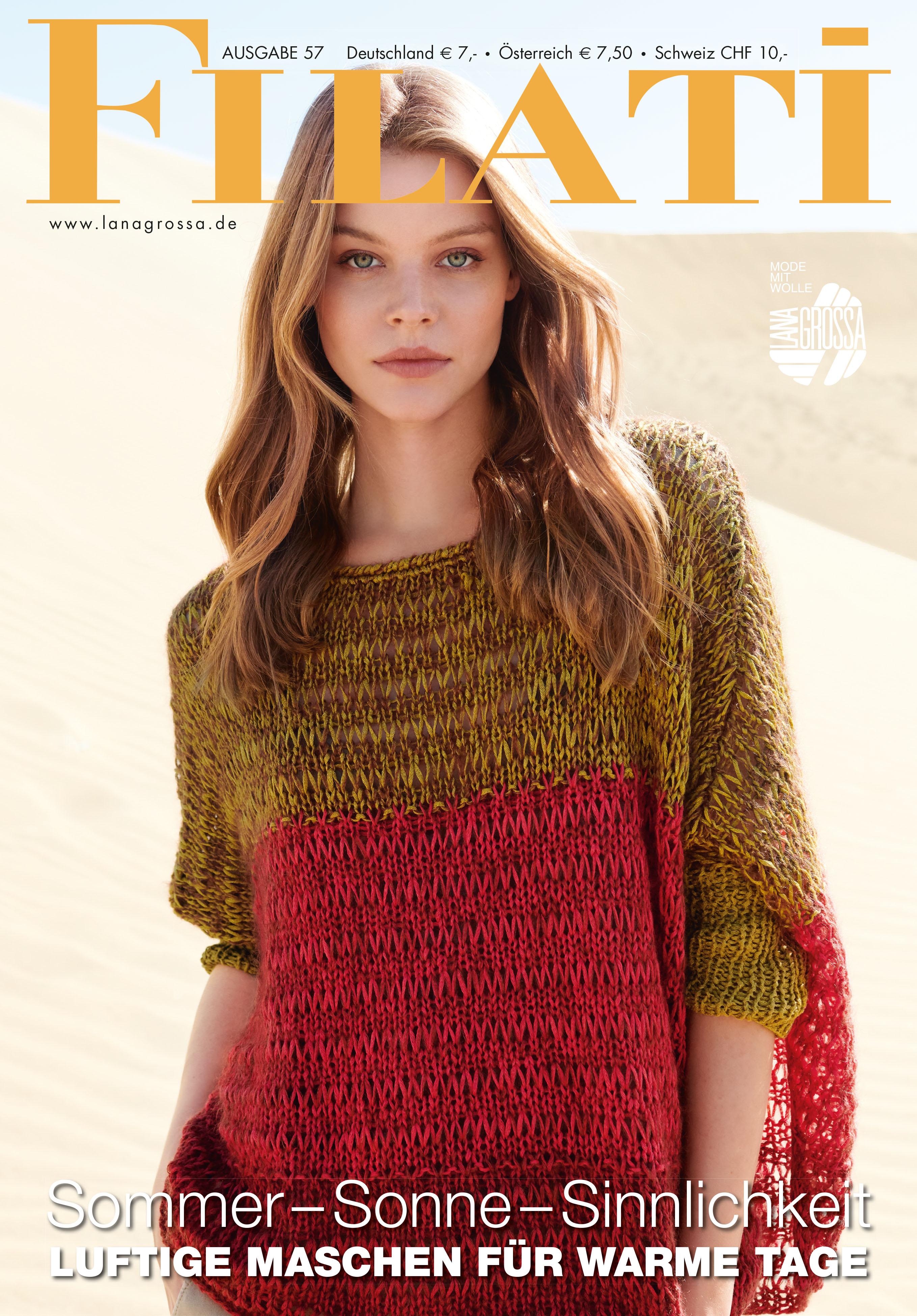 Lana Grossa Filati No 57 Magazine De Knitting Instructions