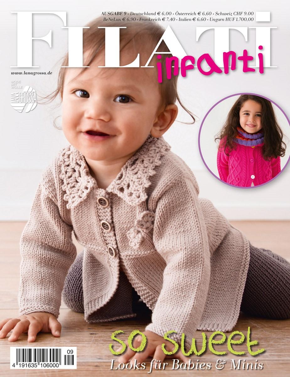 Lana Grossa FILATI INFANTI No. 9 - German Edition