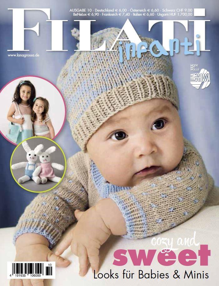 Lana Grossa FILATI INFANTI No. 10 - German Edition