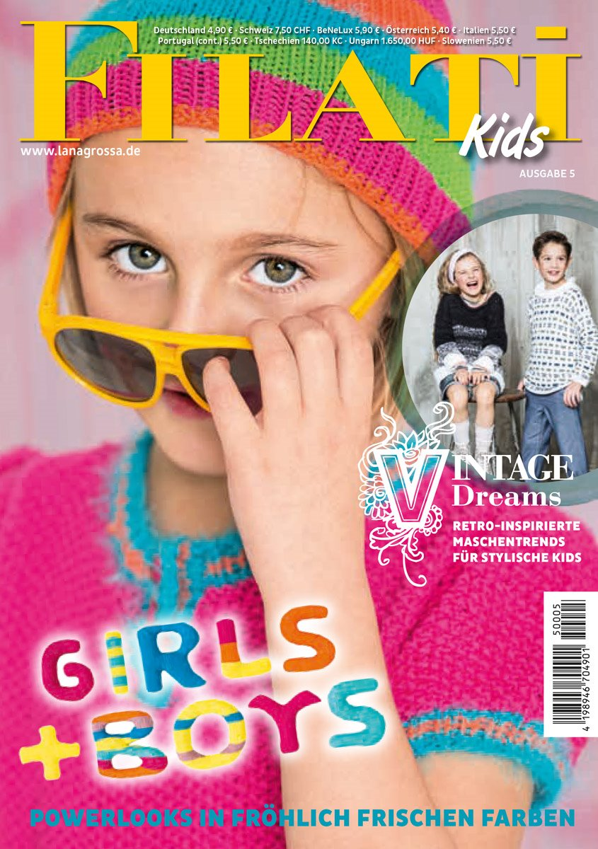 Lana Grossa FILATI Kids No. 5 - German Edition