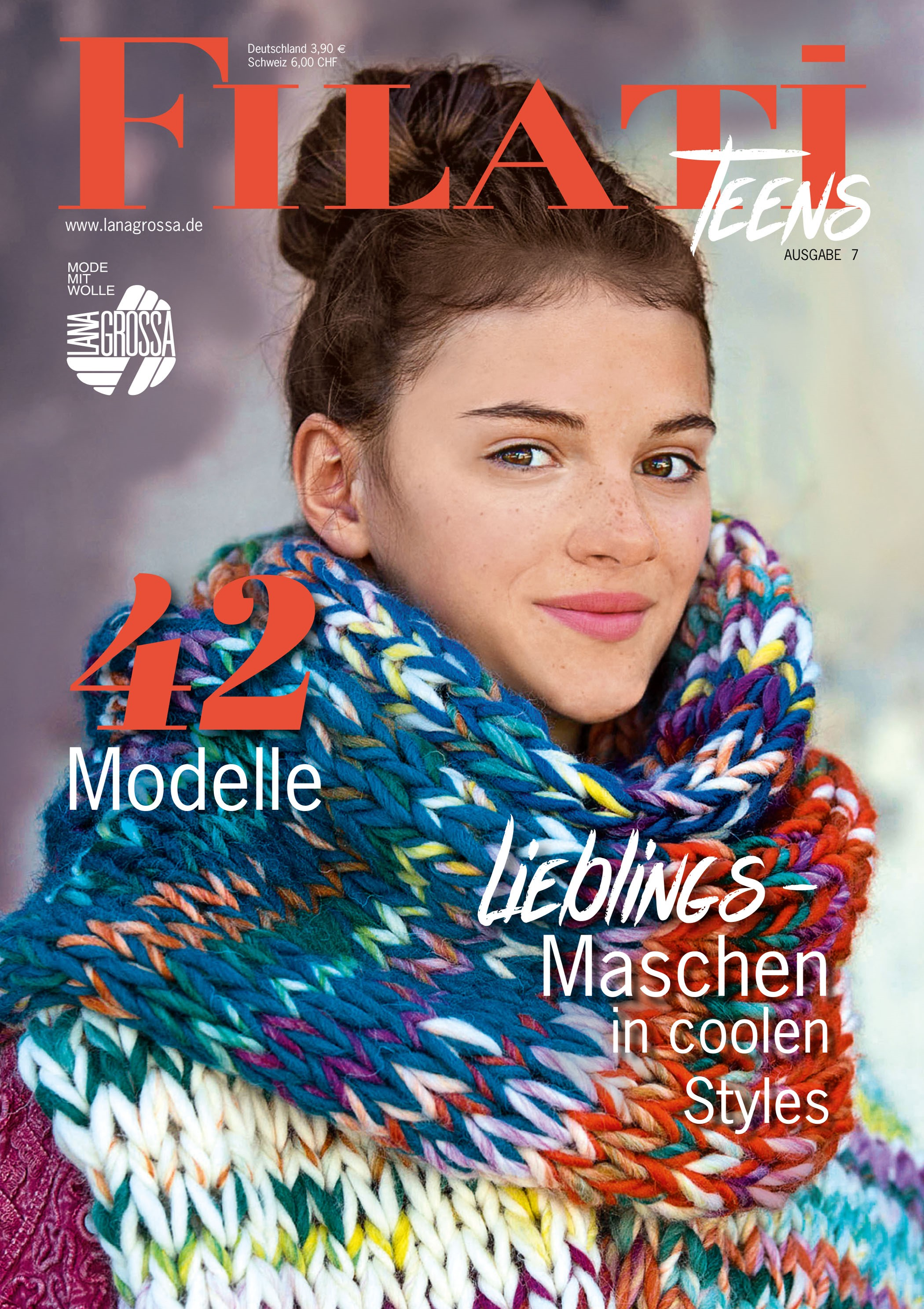 Lana Grossa FILATI Teens No. 7 - German Edition