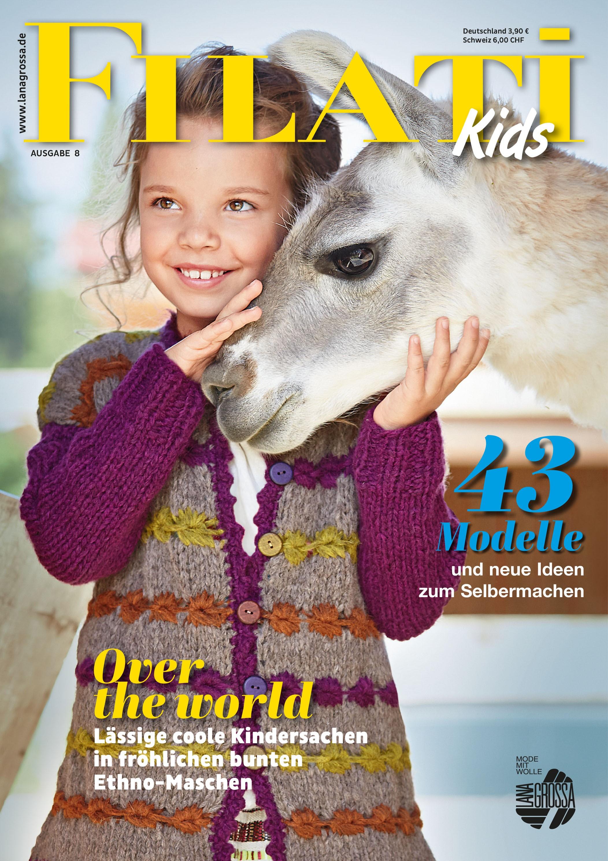 Lana Grossa FILATI Kids No. 8 - German Edition