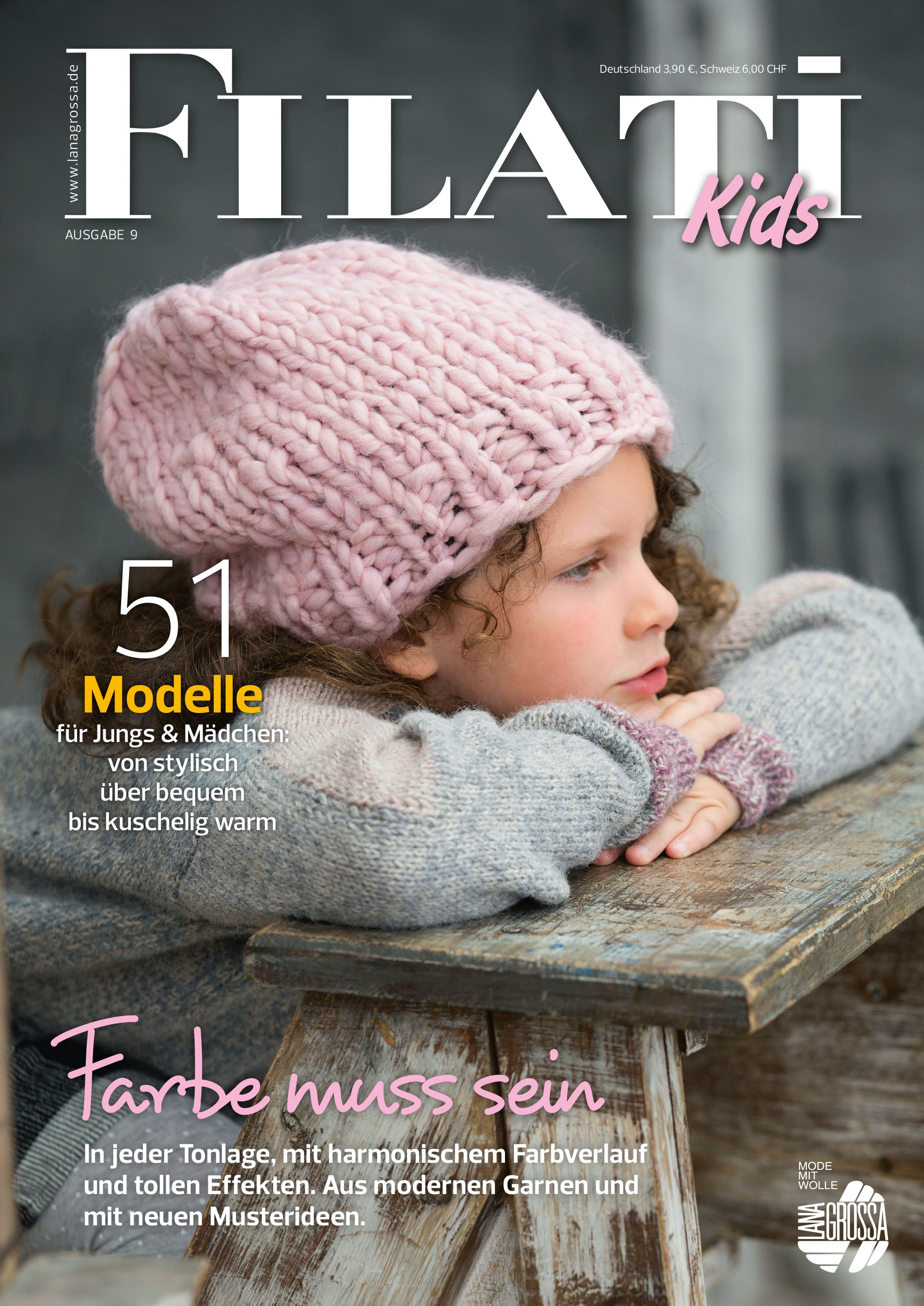 Lana Grossa FILATI Kids No. 9 - German Edition