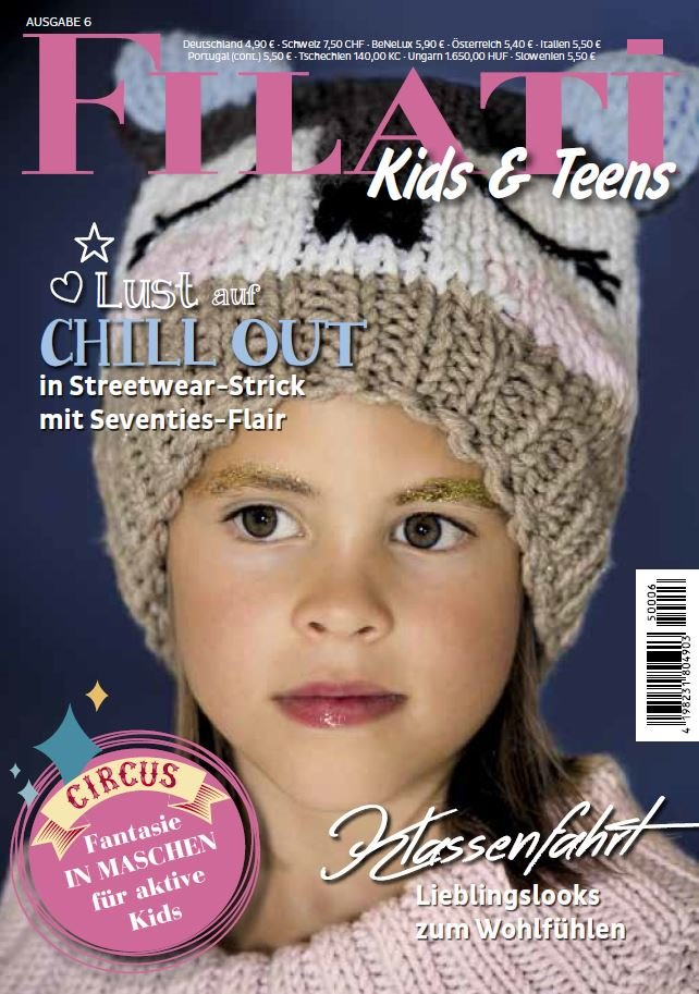 Lana Grossa FILATI Kids & Teens No. 6 - German Edition