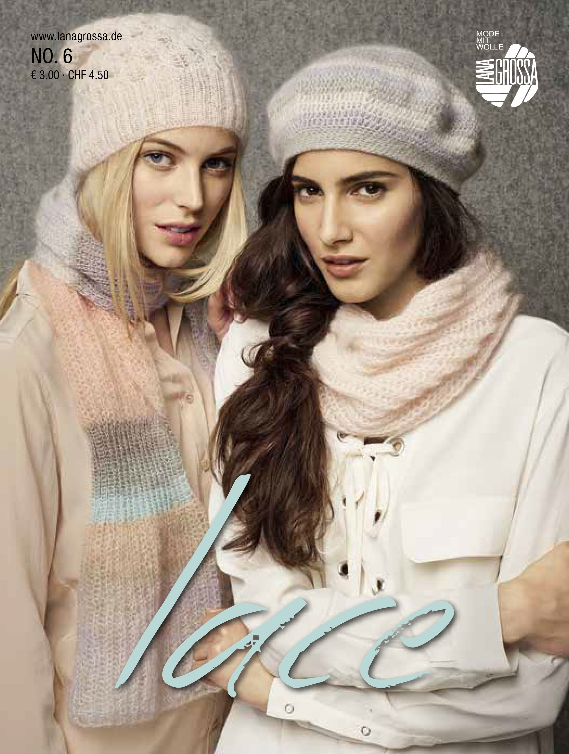 Lana Grossa LACE No. 6 - German Edition