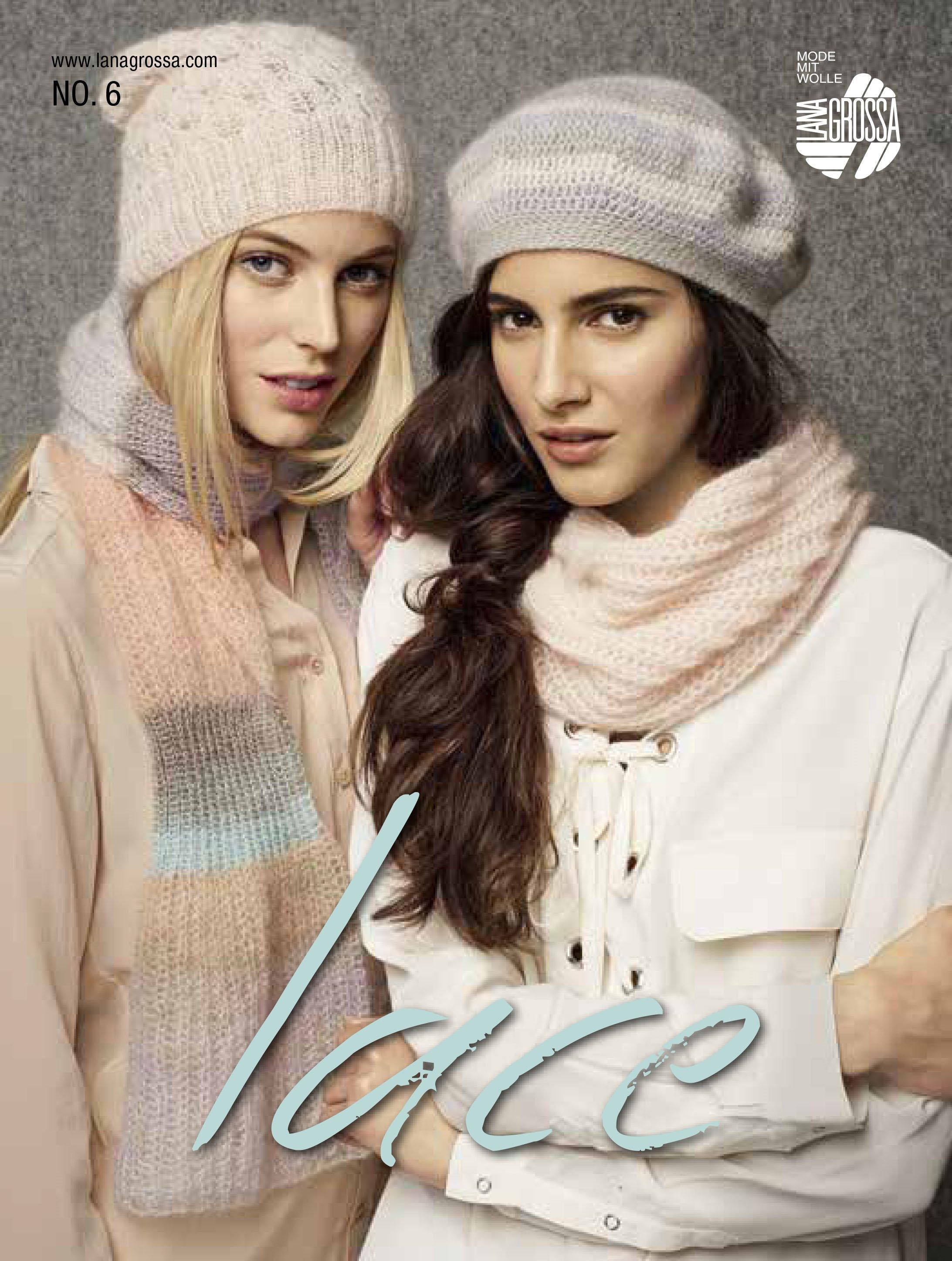Lana Grossa LACE No. 6 - English Edition