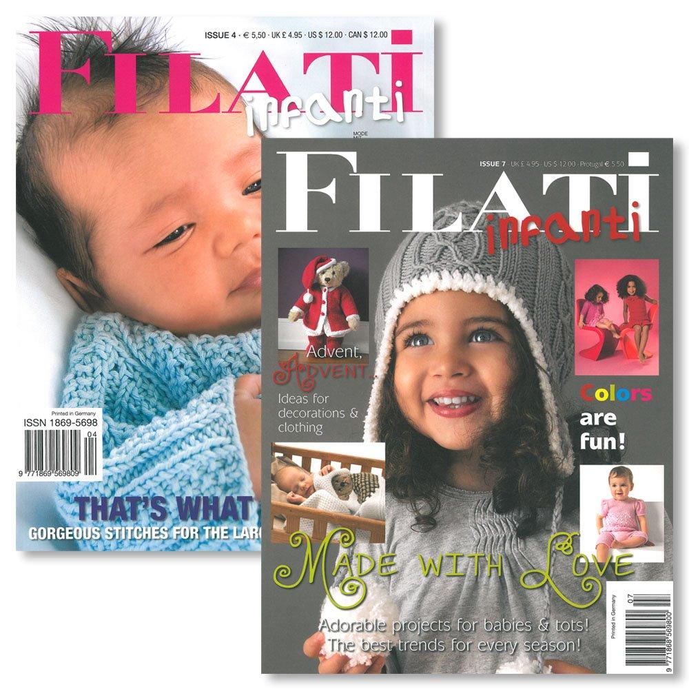 Lana Grossa FILATI INFANTI No. 4+7 - English Edition
