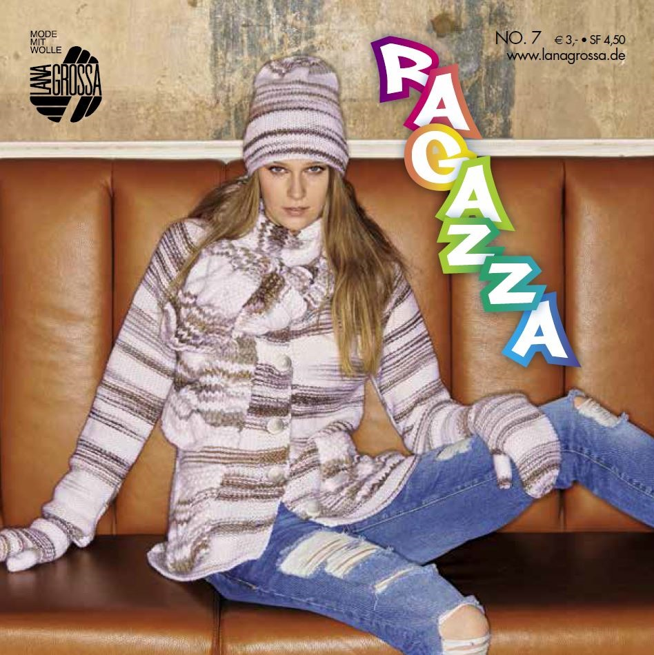 Lana Grossa RAGAZZA No. 7 - German Edition