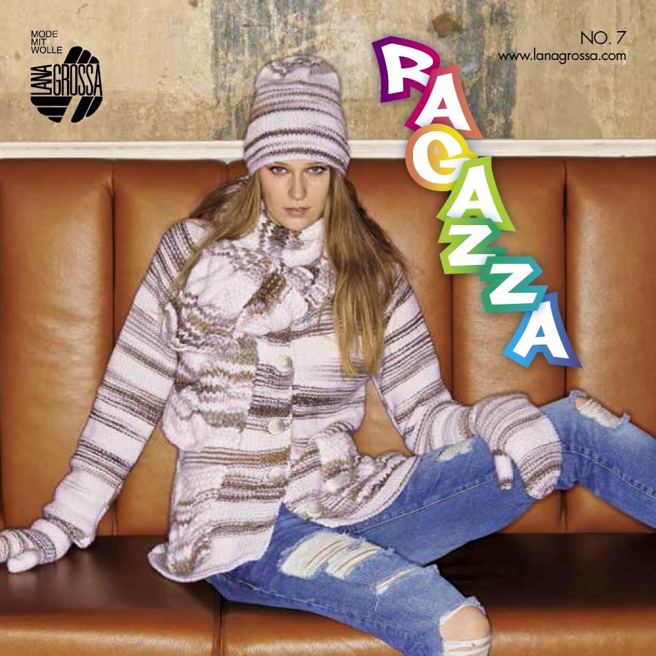 Lana Grossa RAGAZZA No. 7 - English Edition