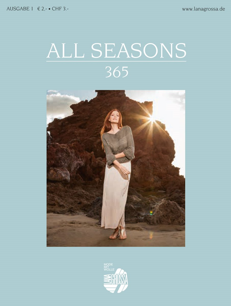 Lana Grossa ALL SEASONS 365 No. 1 - German Edition