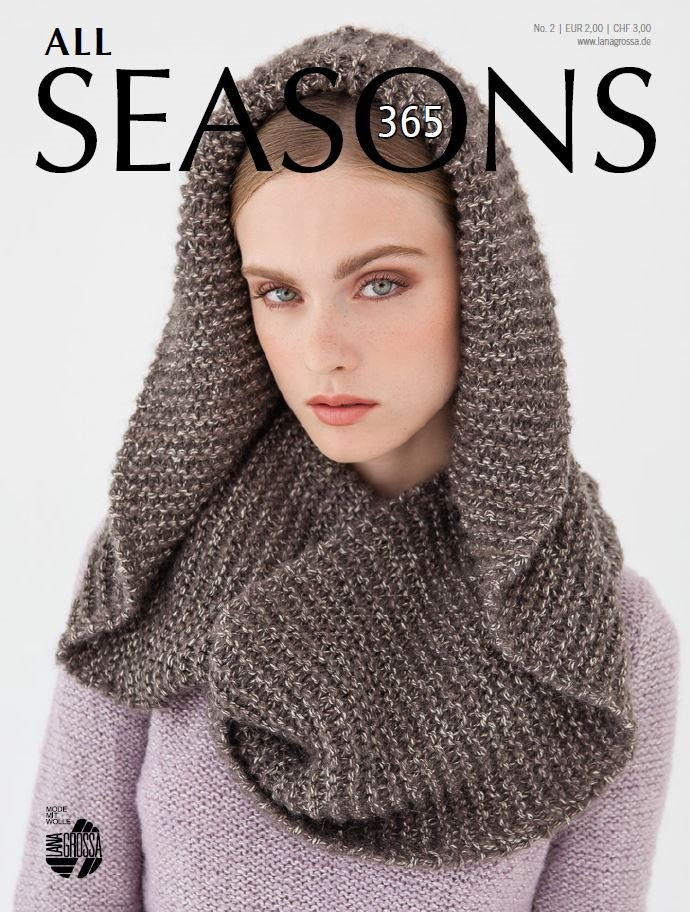 Lana Grossa ALL SEASONS 365 No. 2 - German Edition