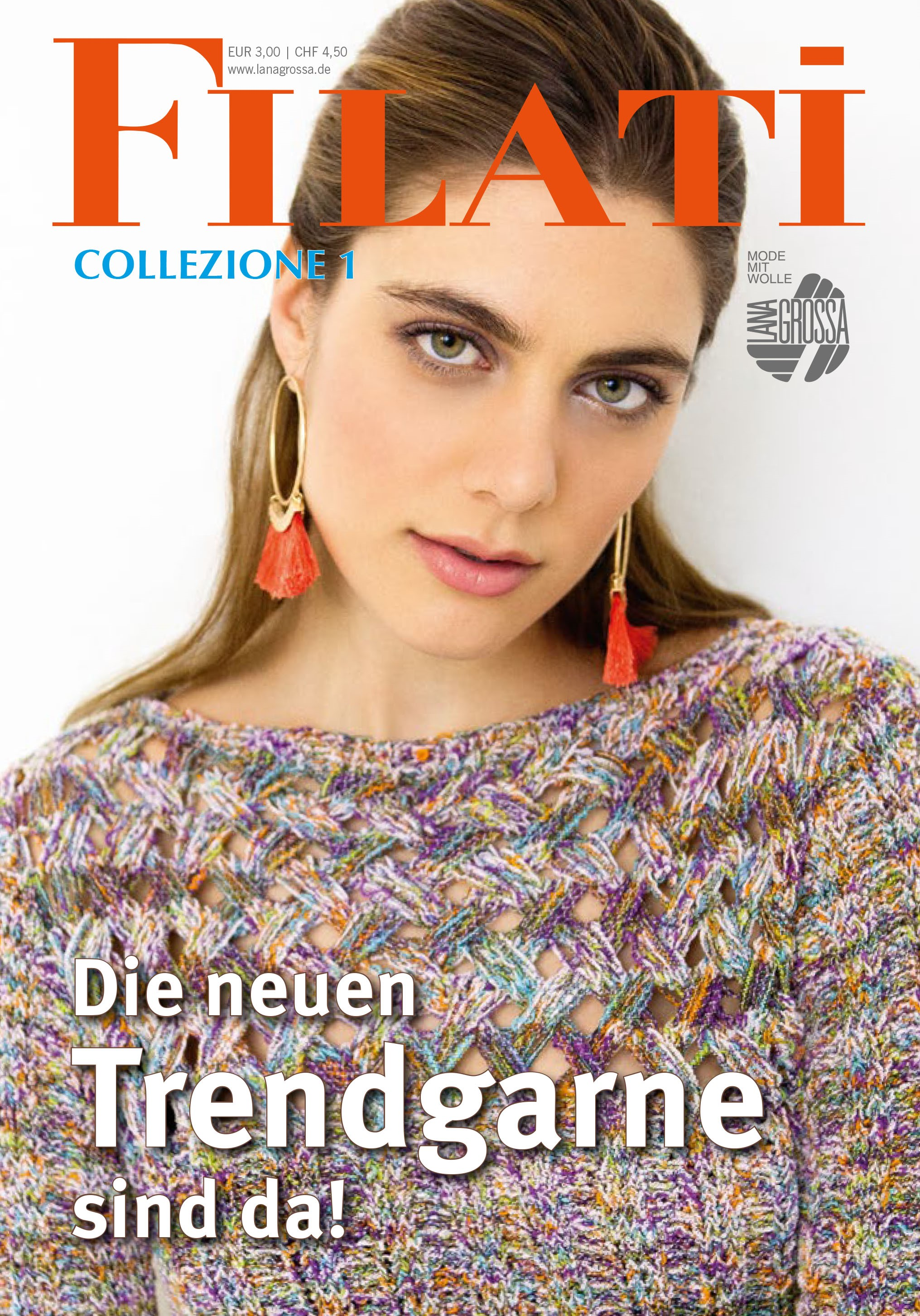 Lana Grossa FILATI COLLEZIONE No. 1 - German Edition