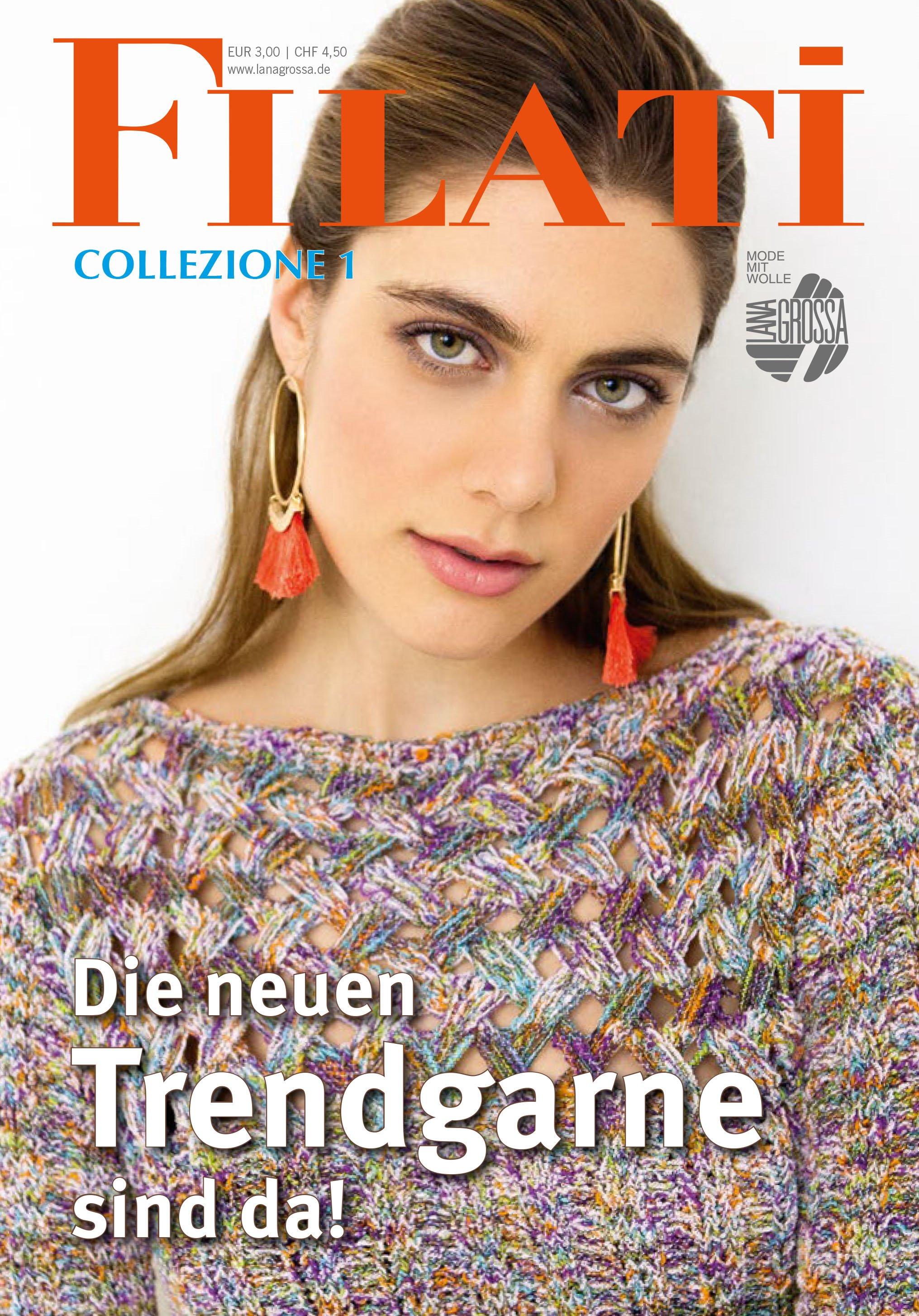 Lana Grossa FILATI Collezione No. 1 - German Edition