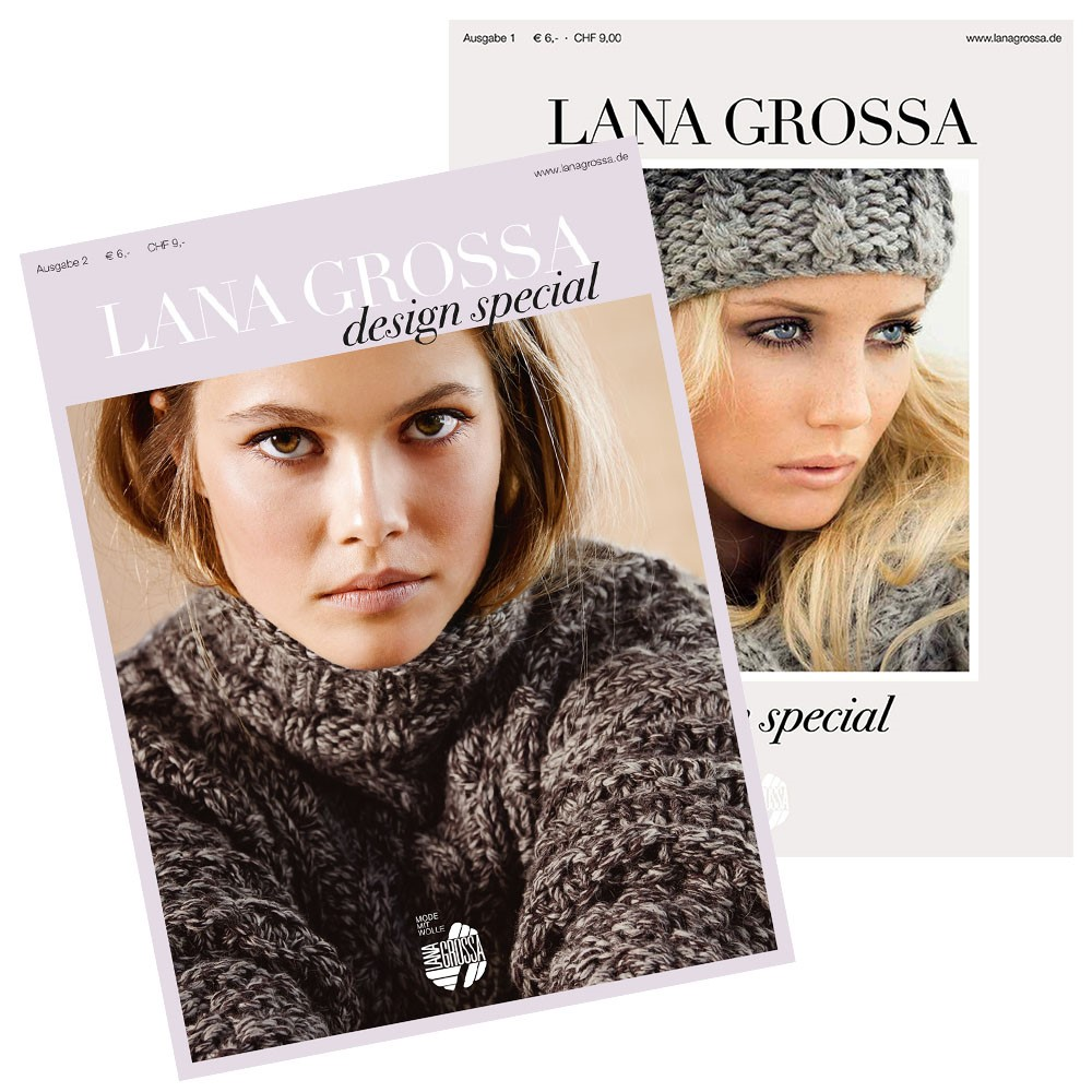 Lana Grossa Design Special No. 1, 2 & 4 - German Edition