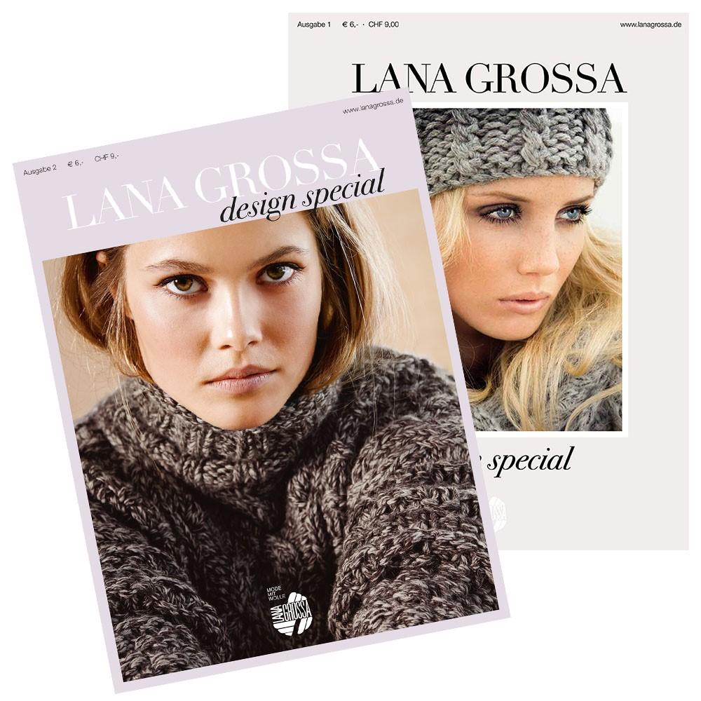 Lana Grossa Design Special No. 1, 2 & 4 - German Edition