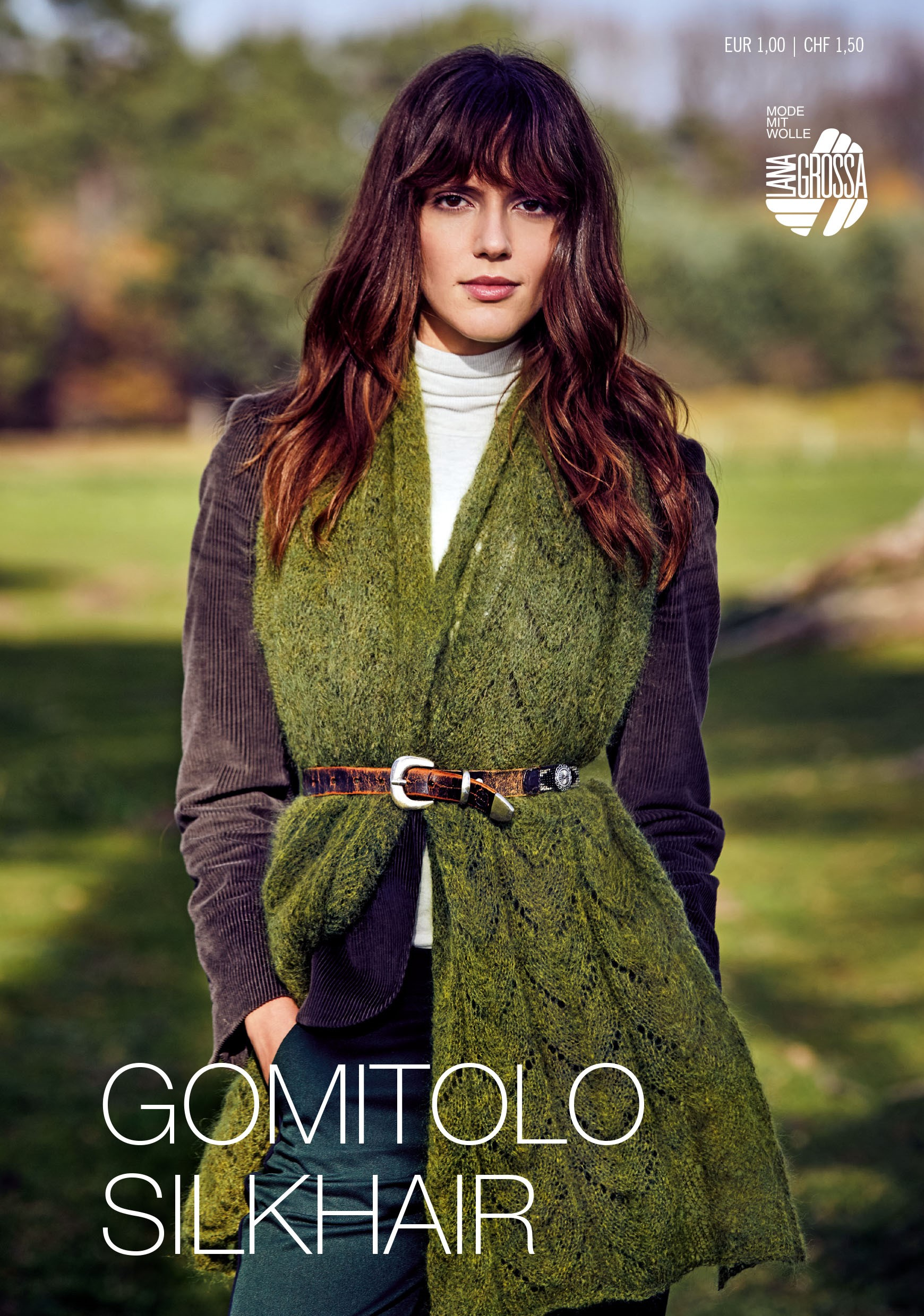 Lana Grossa GOMITOLO SILKHAIR Flyer - German Edition